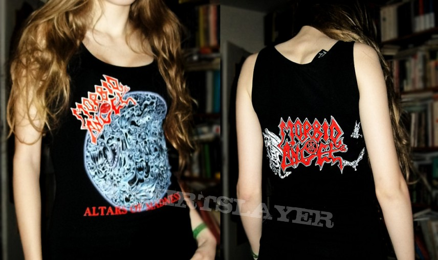 "TShirt or Longsleeve - ""Altars of Madness"" tank"