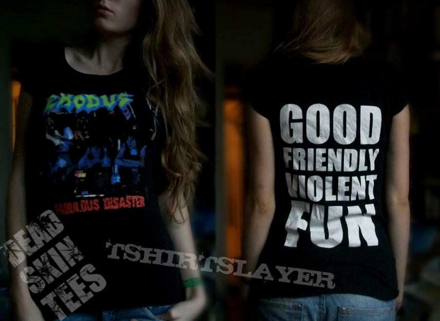 TShirt or Longsleeve - Fabulous Disaster Tshirt