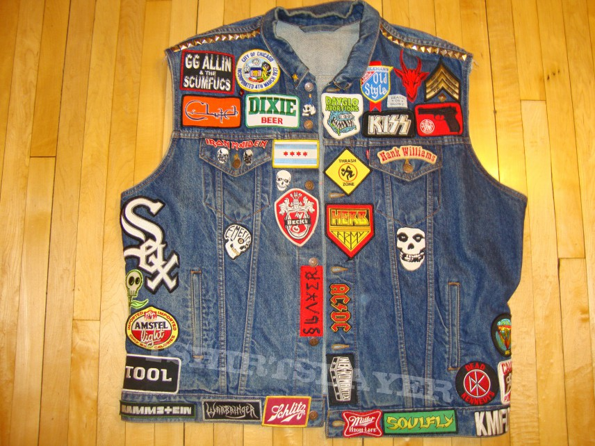 Everyday/gig/party vest.