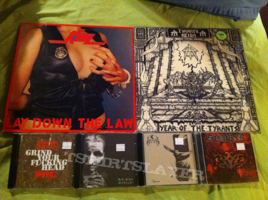 Keel / Tyrant's Reign LP