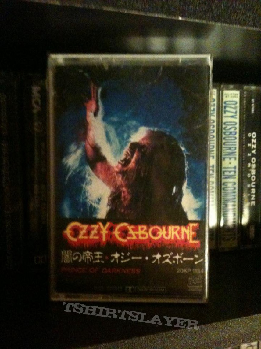 Other Collectable - Ozzy Osbourne - Prince of Darkness rare Japan cassette