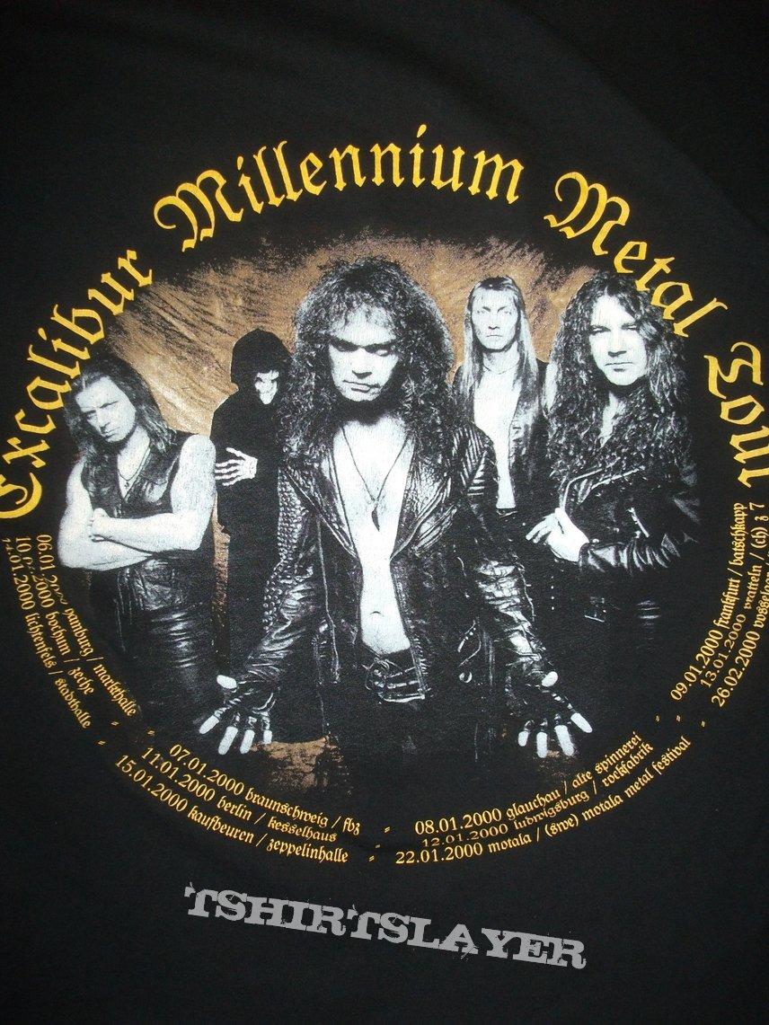 Grave Digger Excalibur tour tee