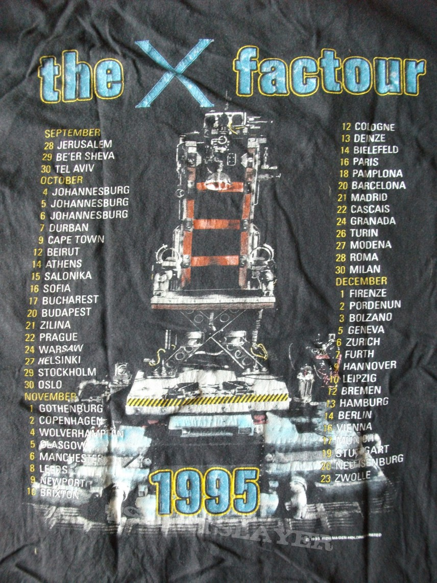 Iron Maiden X Factor Tour