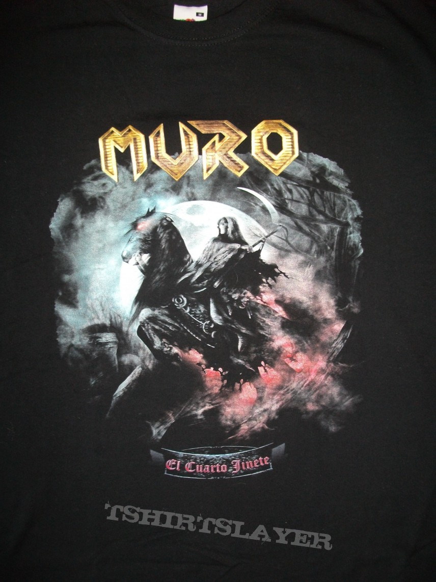 Muro El Cuarto Jinete t-shirt | TShirtSlayer TShirt and BattleJacket ...