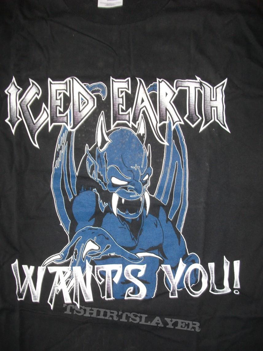Iced Earth Ice Devil Fan Club shirt