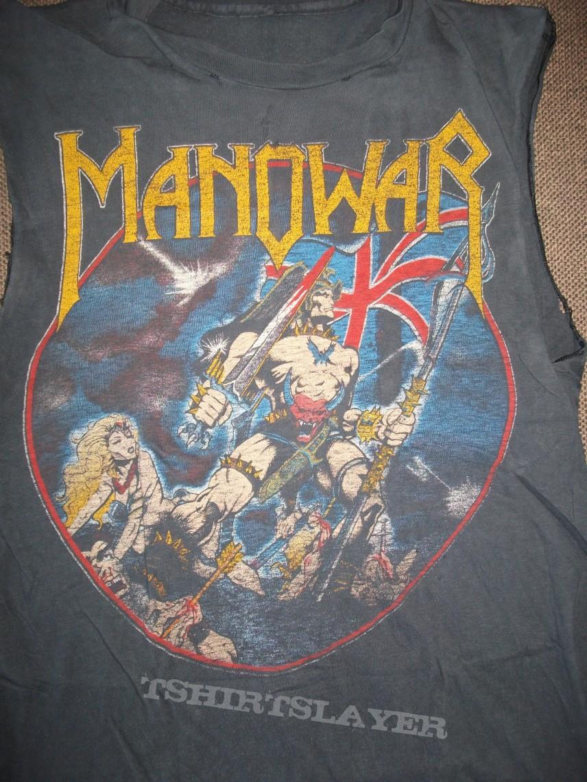 Manowar Hail to England tour shirt