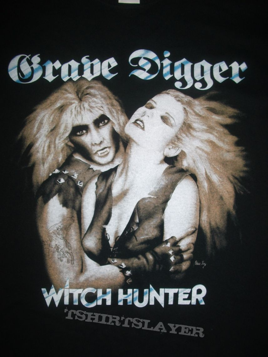 Grave Digger Witch hunter shirt