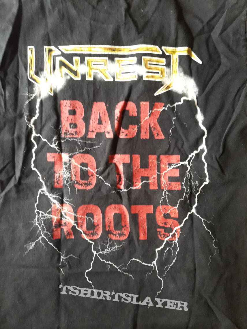 Unrest Back to the roots shirt
