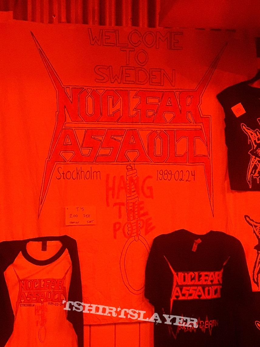 Nuclear Assault Scandinavia Deathfest event shirt