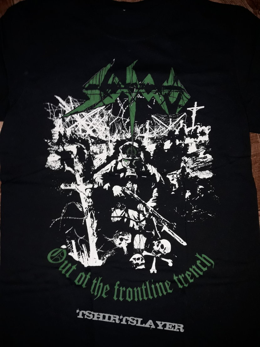 Sodom Out of the frontline trench shirt