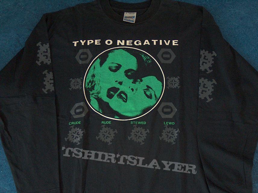 Type O Negative - 1995 Bloody Kisses Longsleeve