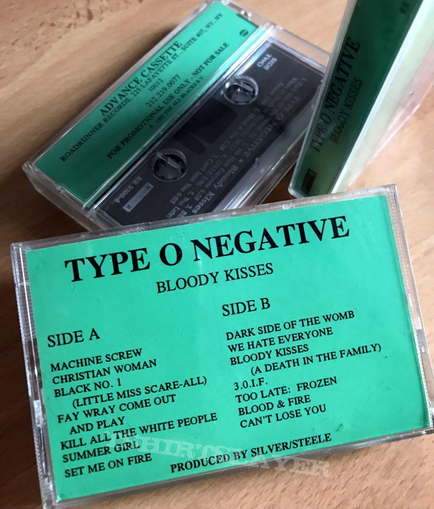 Type O Negative - Bloody Kisses promo cassettes