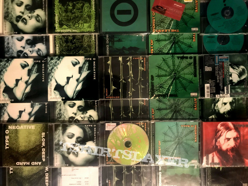 Type O Negative CD/Tape collection needs a new owner!