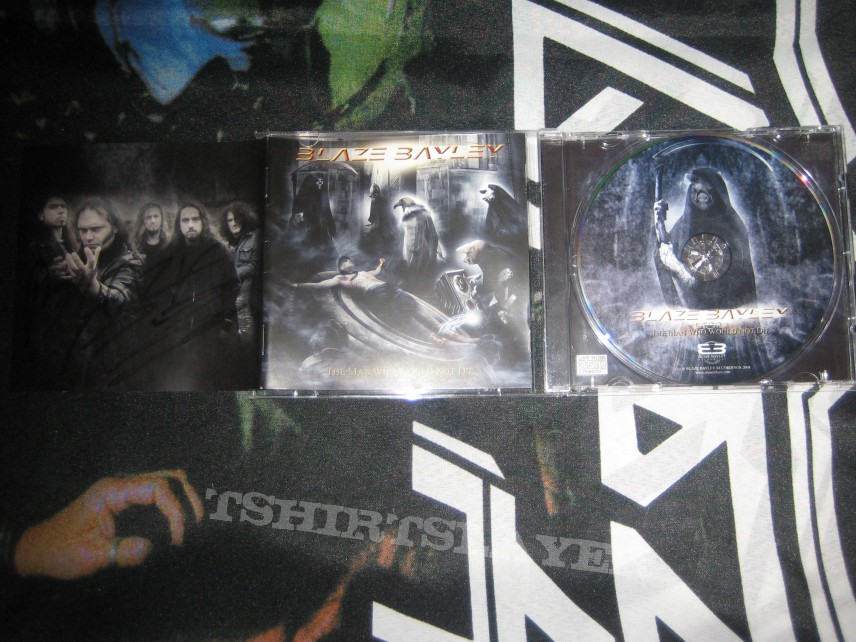 Other Collectable - Blaze Bayley - The Man Who Would Not Die