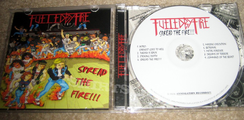 Other Collectable - Fueled By Fire - Spread the Fire!!!