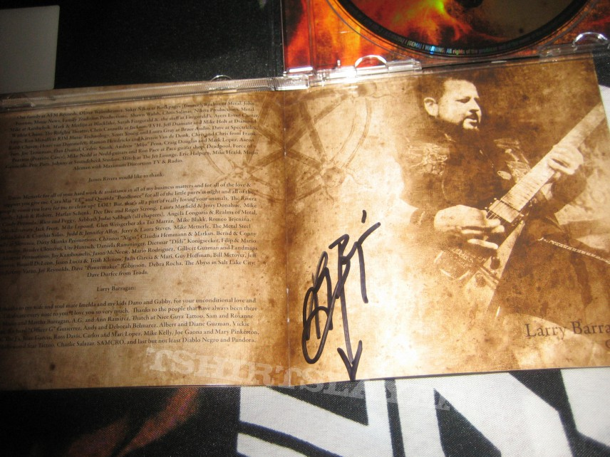 Other Collectable - Helstar - Glory of Chaos (signed!)