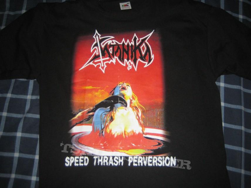 TShirt or Longsleeve - Satanika - Speed Thrash Perversion shirt