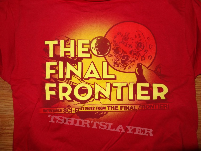 """TShirt or Longsleeve - Iron Maiden """"Stories from the Final Frontier"""" T-shirt"""