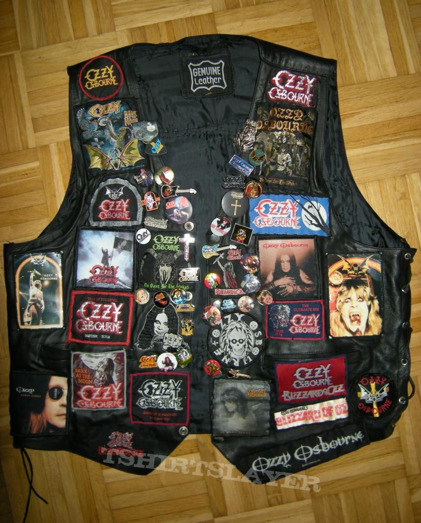 Ozzy Osbourne Kutte <3