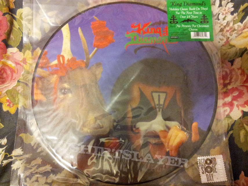 King Diamond - No Presents For Christmas picture disc | TShirtSlayer ...