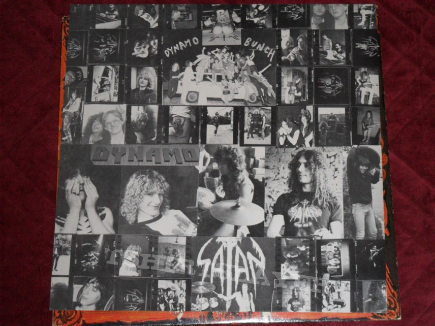 Satan - Court in the Act LP first press