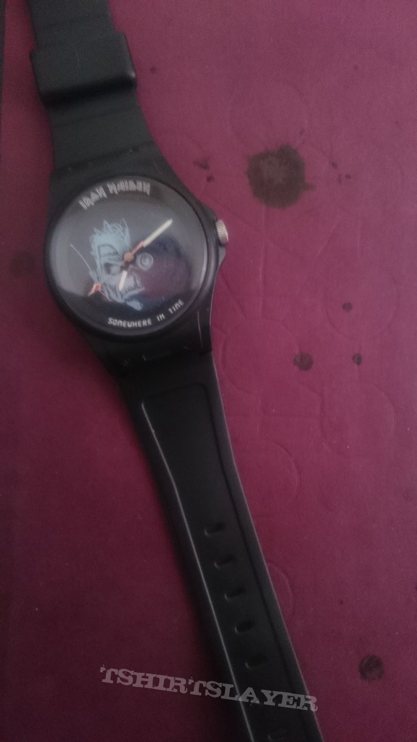 Iron Maiden - Somewhre in time Wristwatch promo 1987