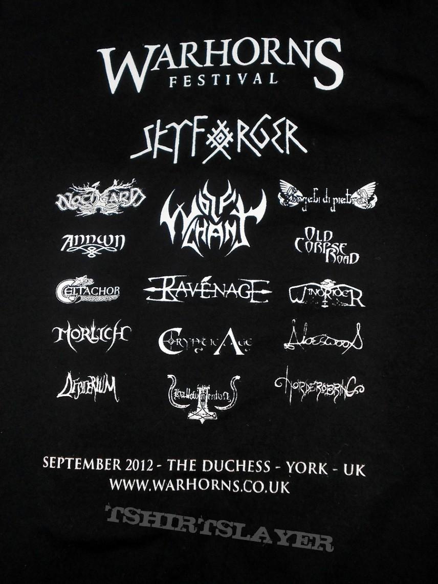 TShirt or Longsleeve - Warhorns Fest 2012  T-Shirt