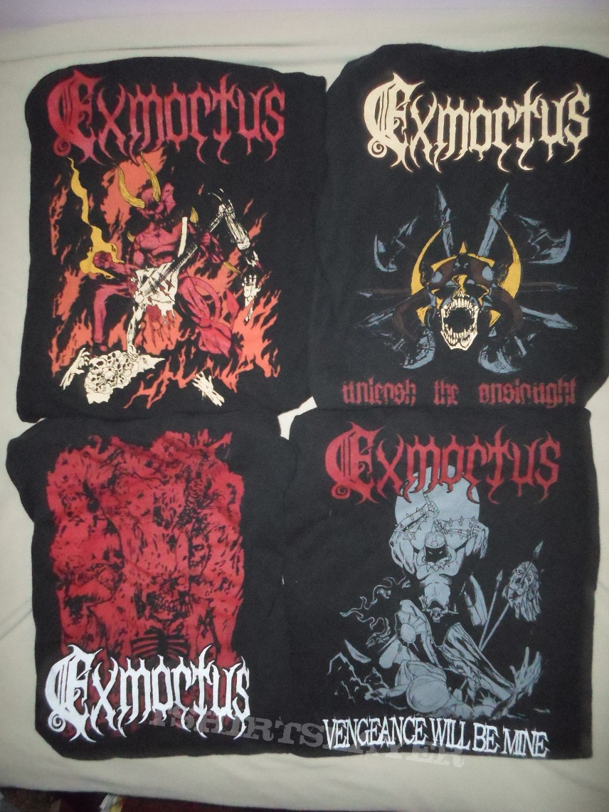 Exmortus 2008 tour shirt lot