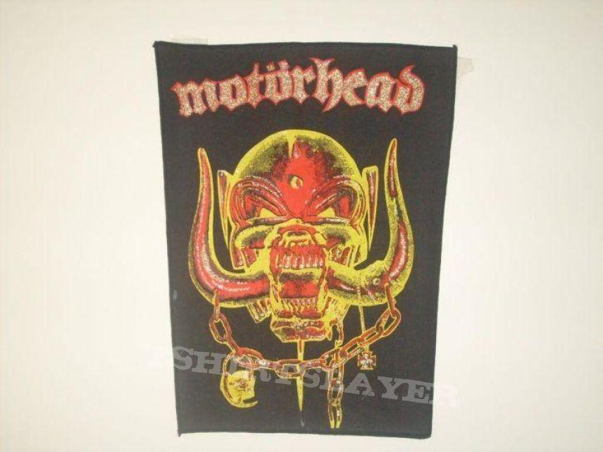 Motörhead vintage backpatch