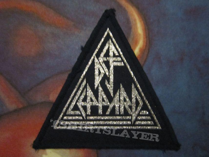 Def Leppard - logo patch