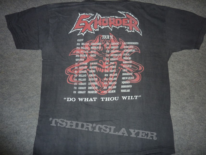 Exhorder The Law  tour 92