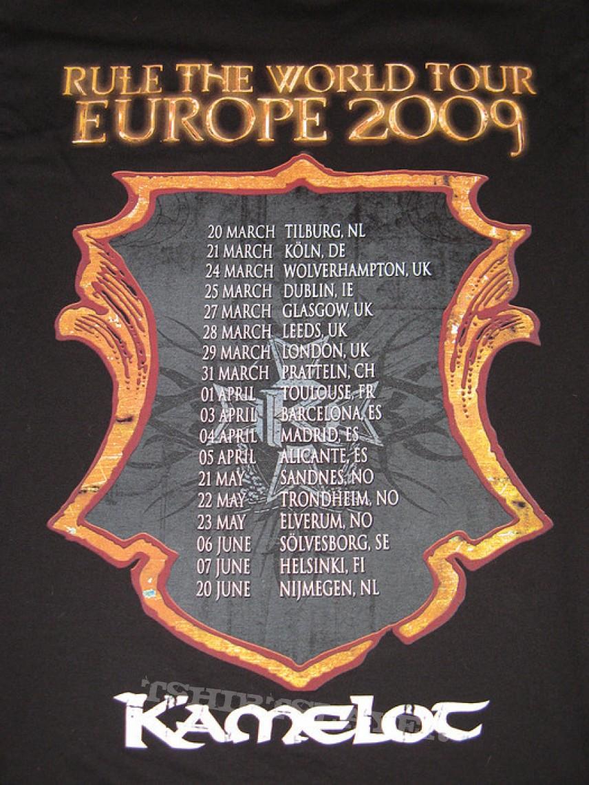 TShirt or Longsleeve - Kamelot - Rule The World Europe Tour