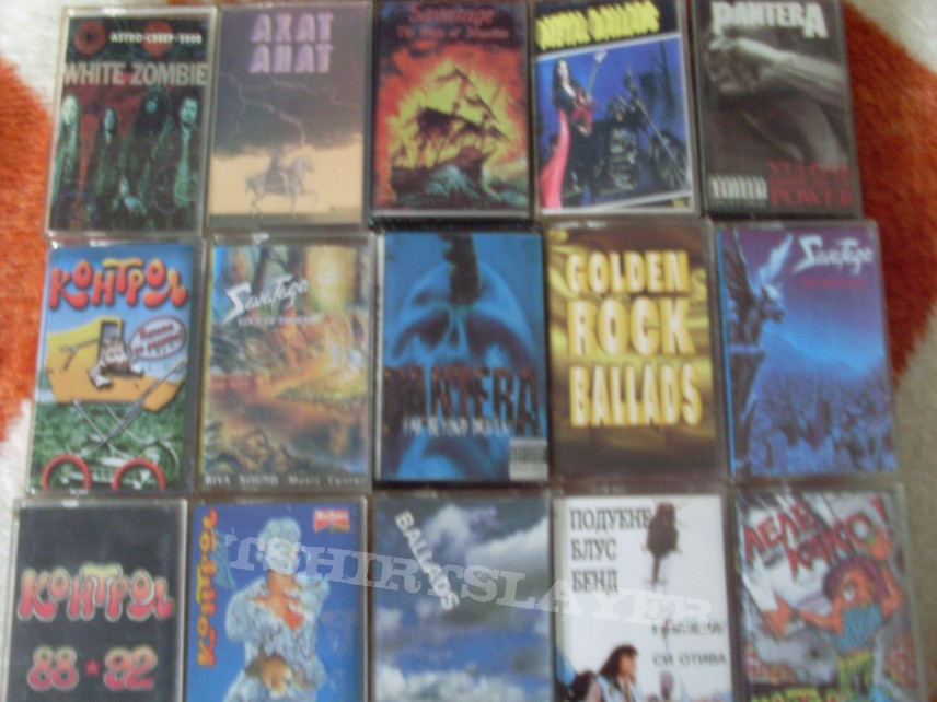 My Tapes Collection