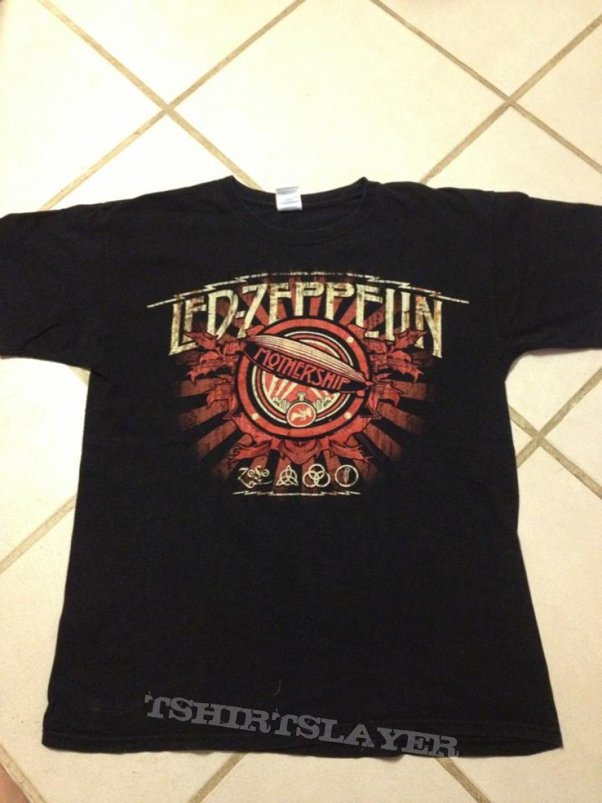 TShirt or Longsleeve - Lef Zeppelin mothership shirt for sale or trade