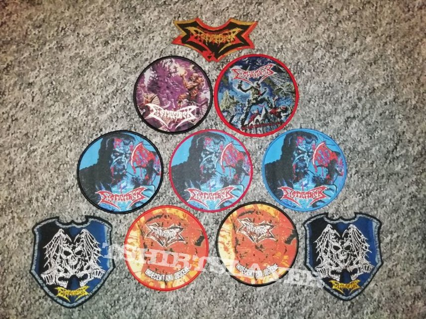 10x DISMEMBER patch set collection