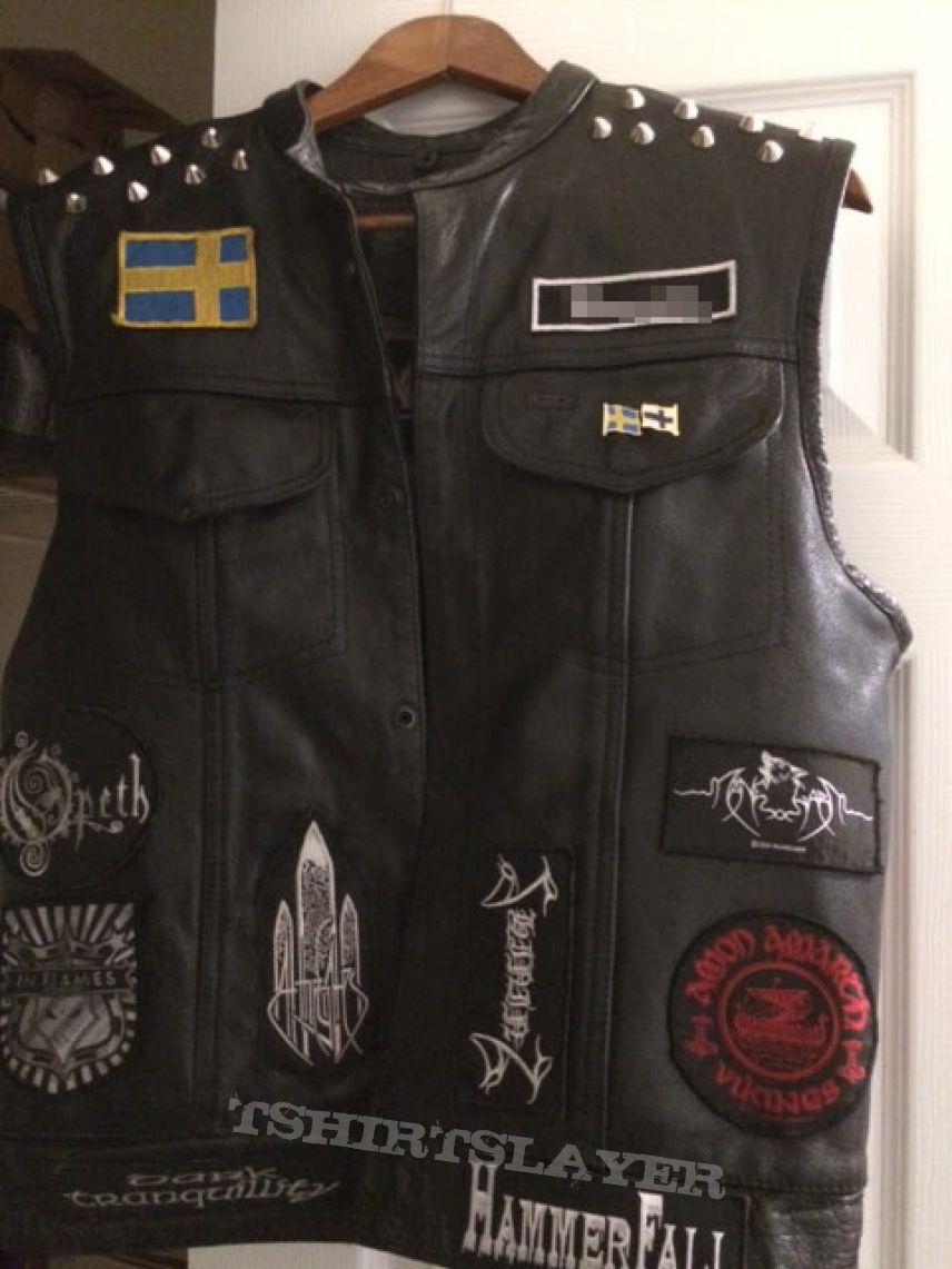Battle jacket (leather, viking/death)