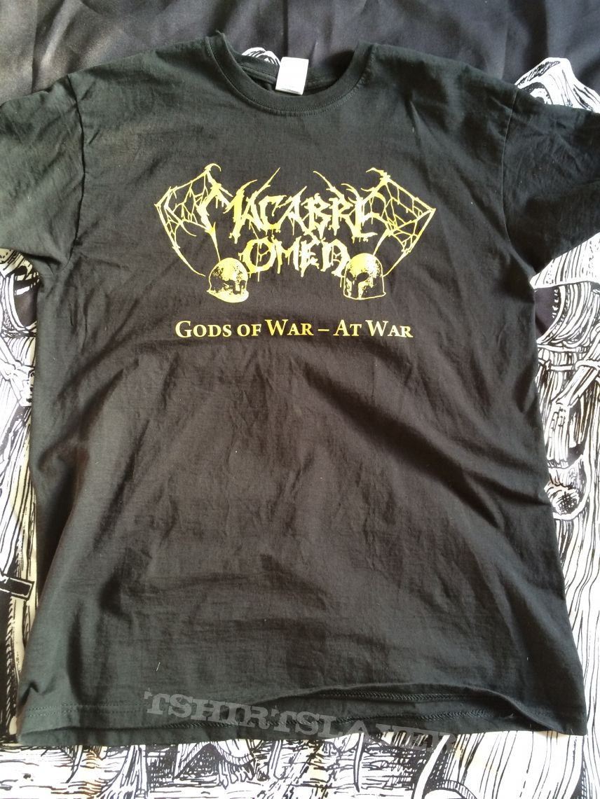 Macabre Omen- Gods Of War Shirt