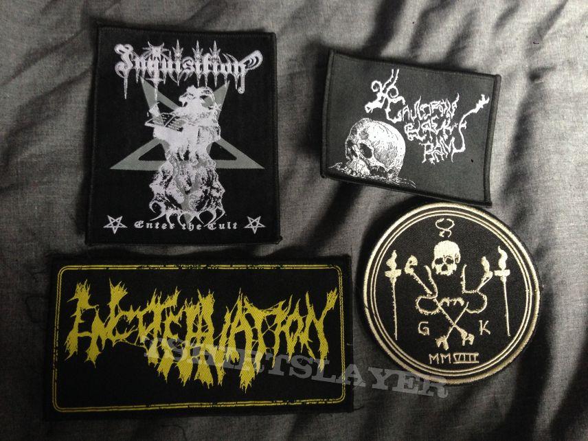 Inquisition, Encoffination, Grave Upheaval, Cauldron Black Ram patches