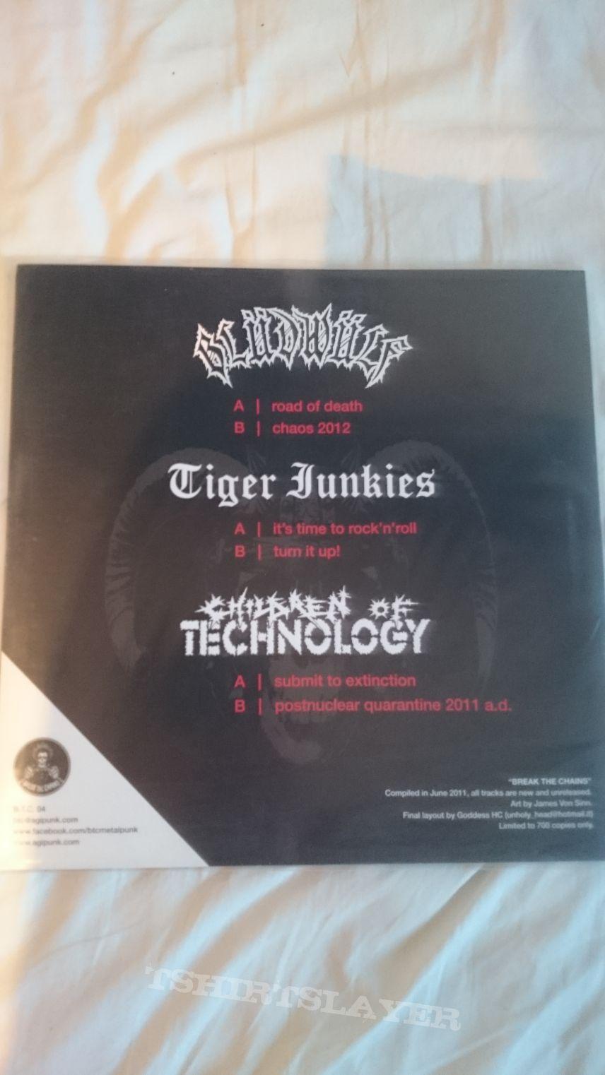 Blüdwülf // Tiger Junkies // Children of Technology split