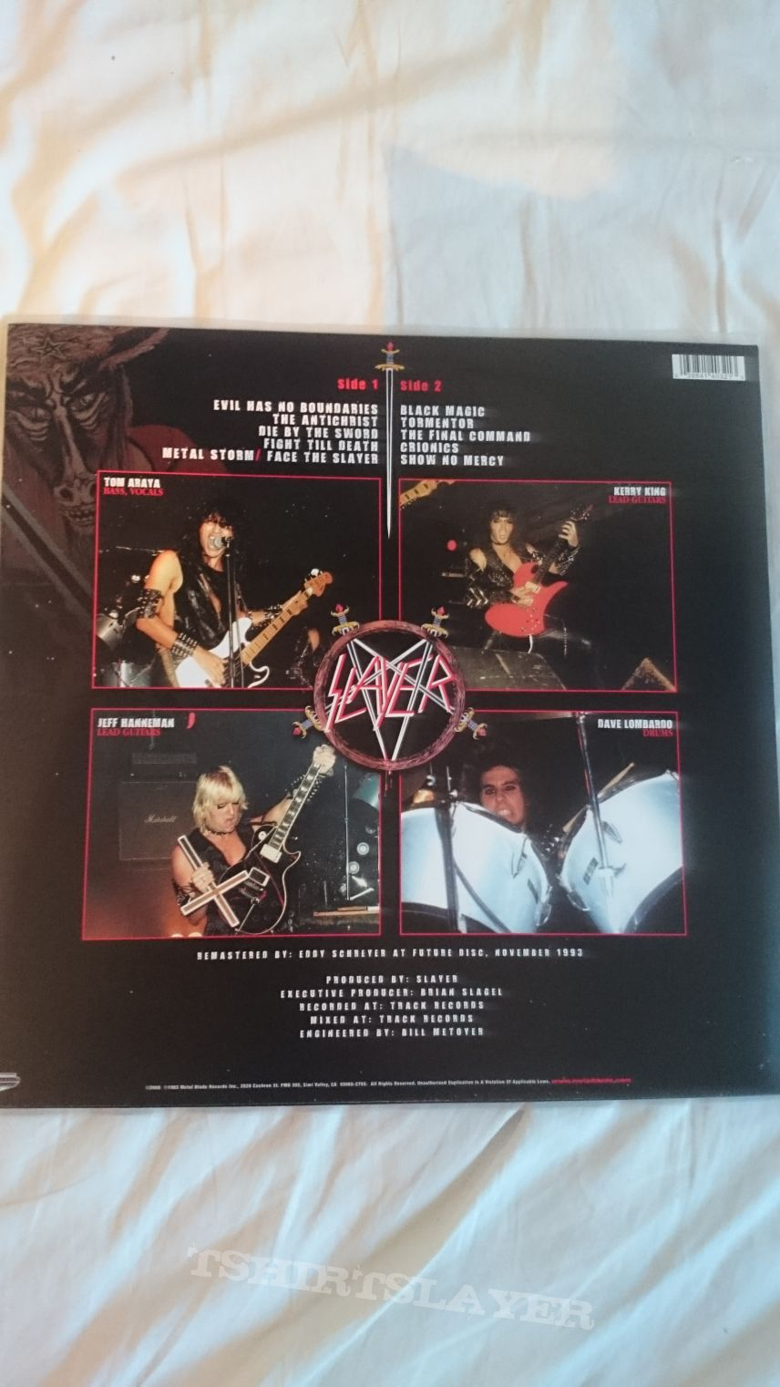 Slayer - Show No Mercy LP