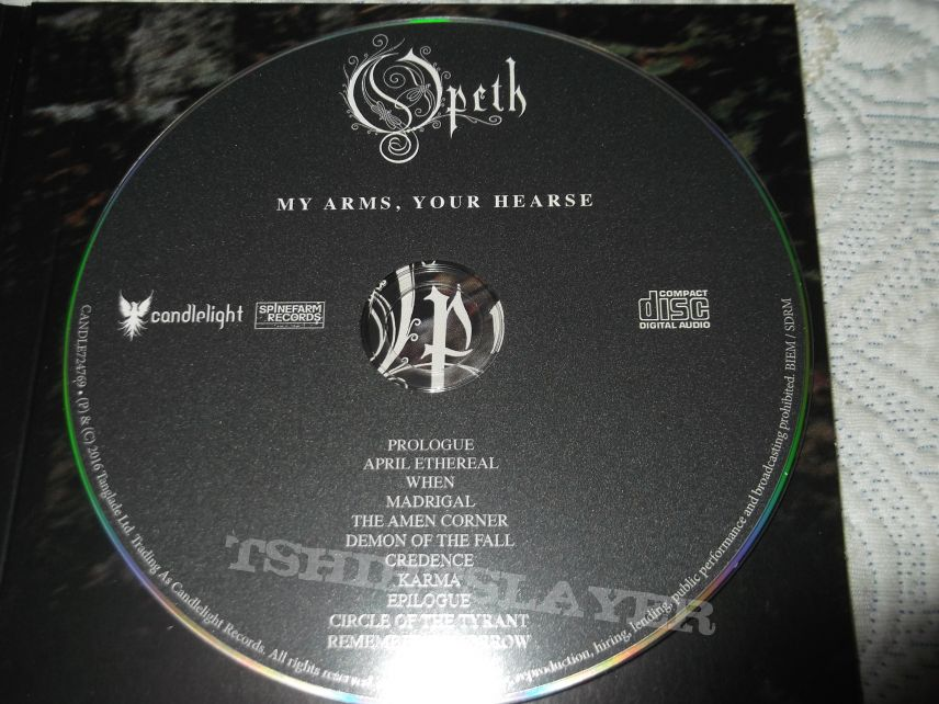 Opeth - My Arms, your Hearse Digipack CD