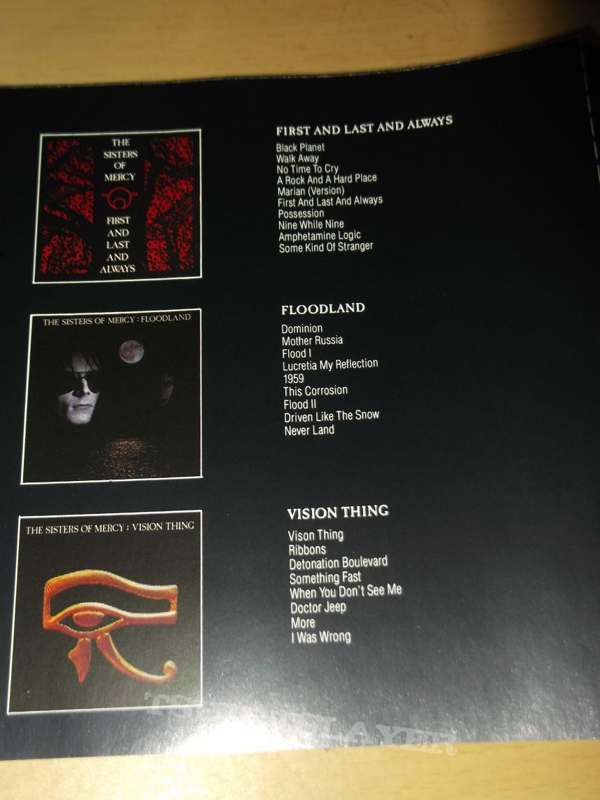 The Sisters of Mercy - A Slight case of Overbombing CD