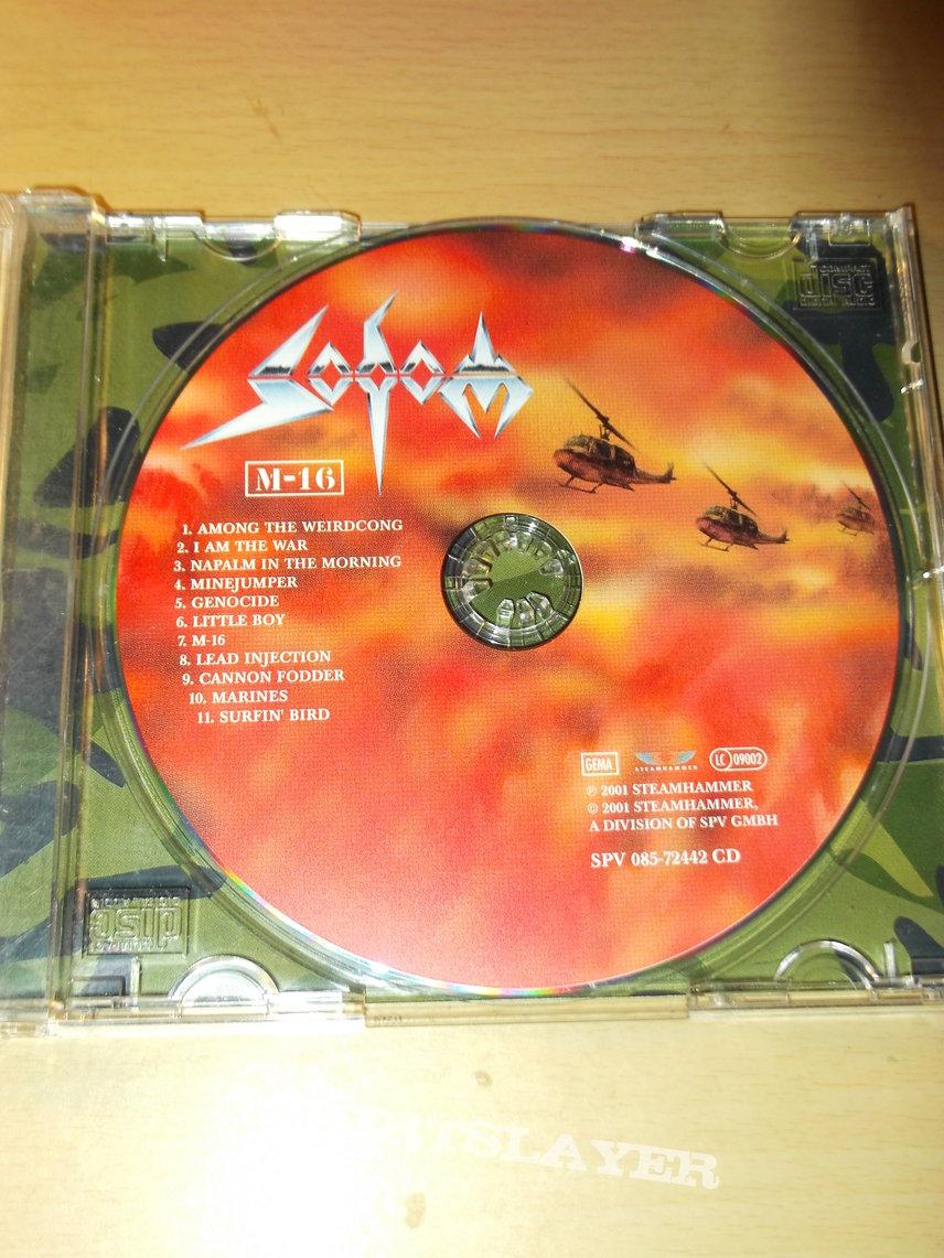 Sodom - M-16 CD | TShirtSlayer TShirt and BattleJacket Gallery