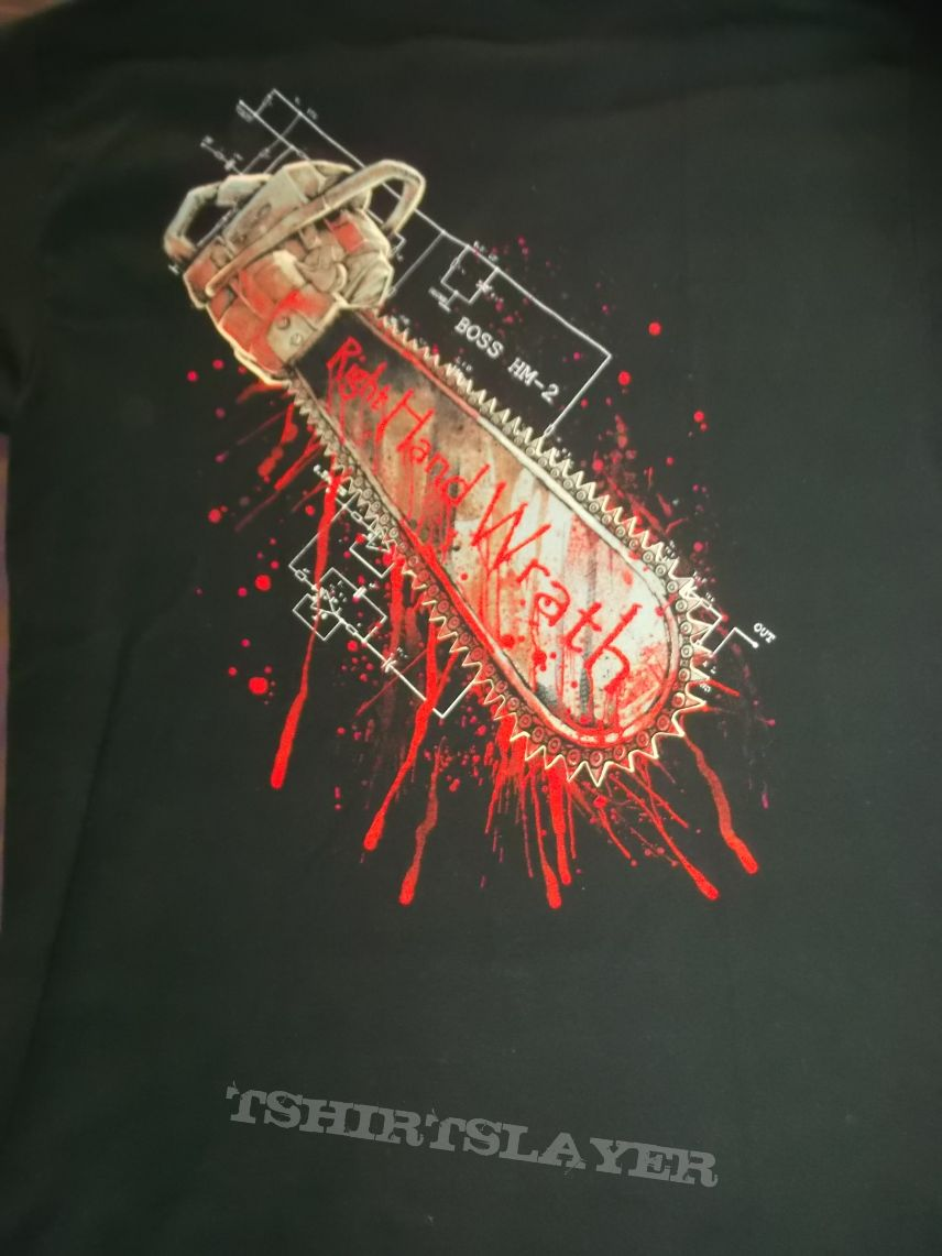 Bloodbath Right hand Wrath T-shirt
