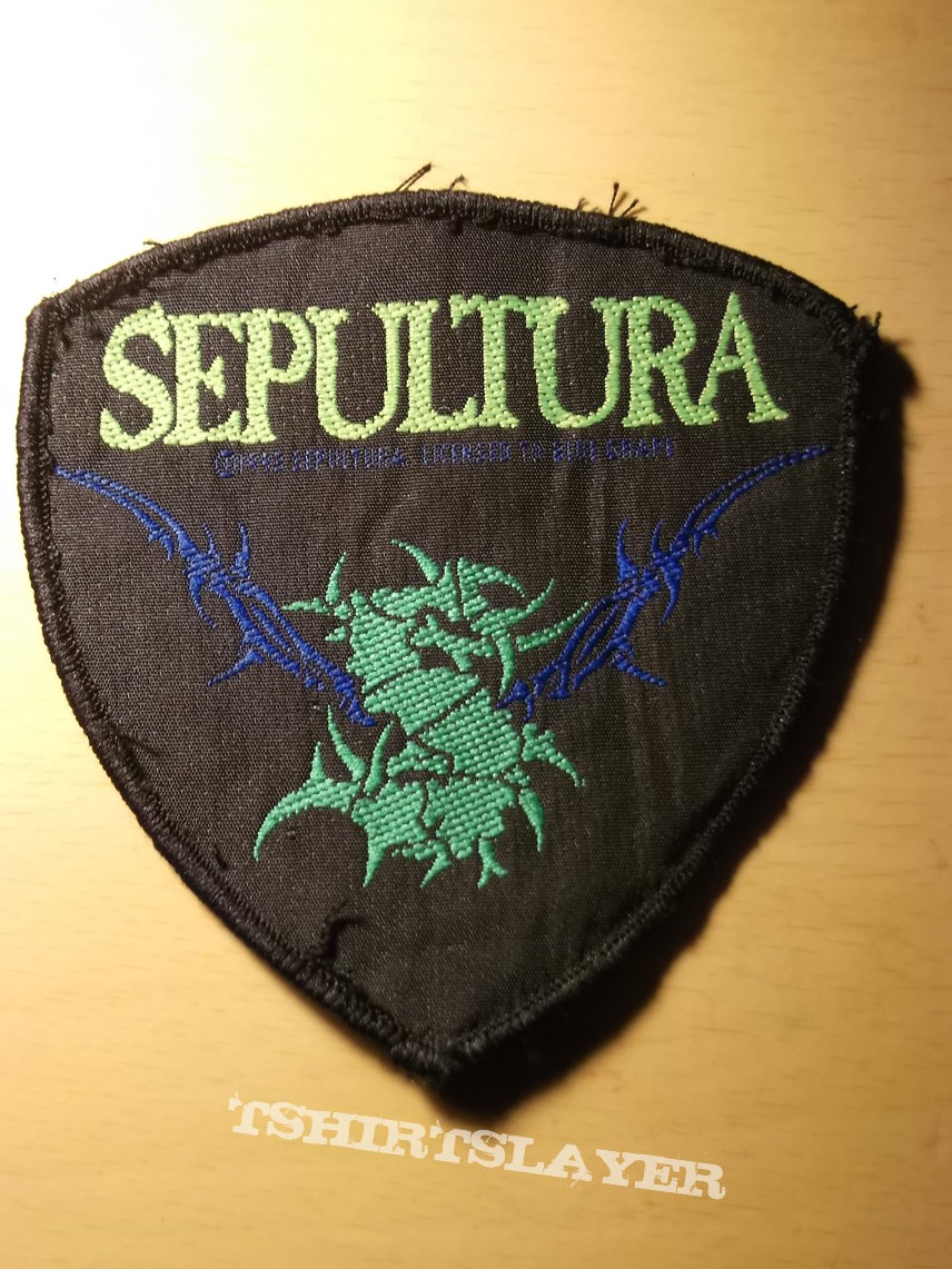Sepultura - Barbed Wire S Crest Patch