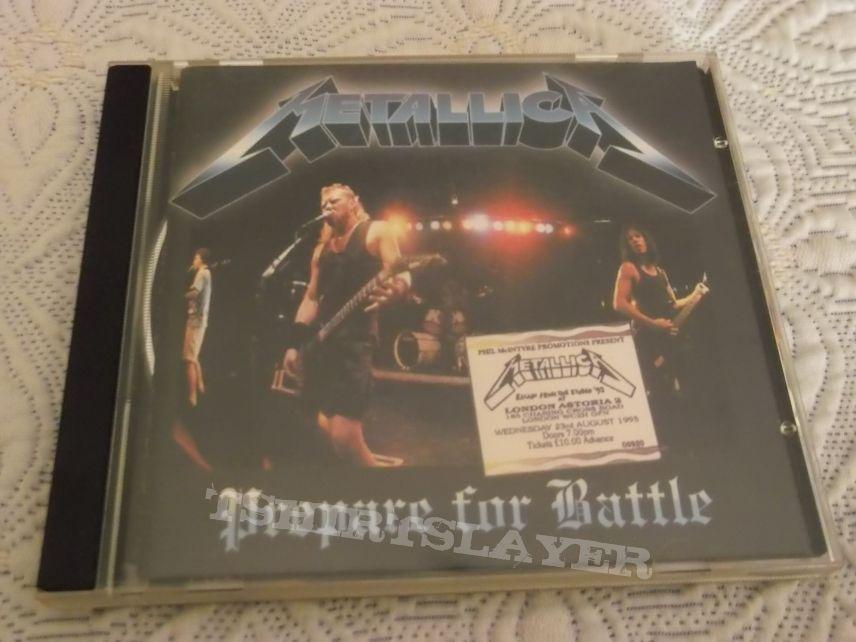 Metallica - Prepare for Battle Bootleg CD | TShirtSlayer TShirt and