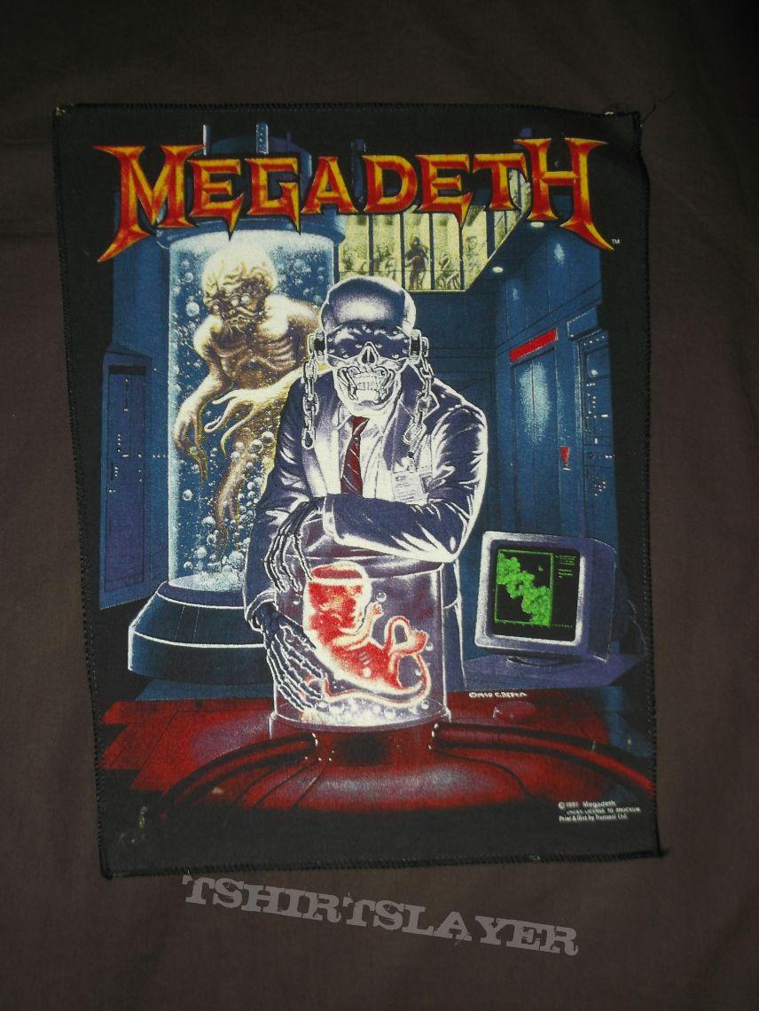 Megadeth - Hangar 18 Back Patch