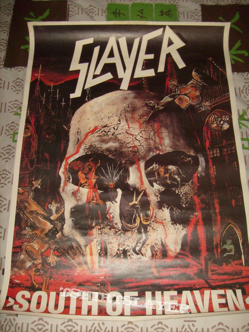 Slayer - South of Heaven German Poster