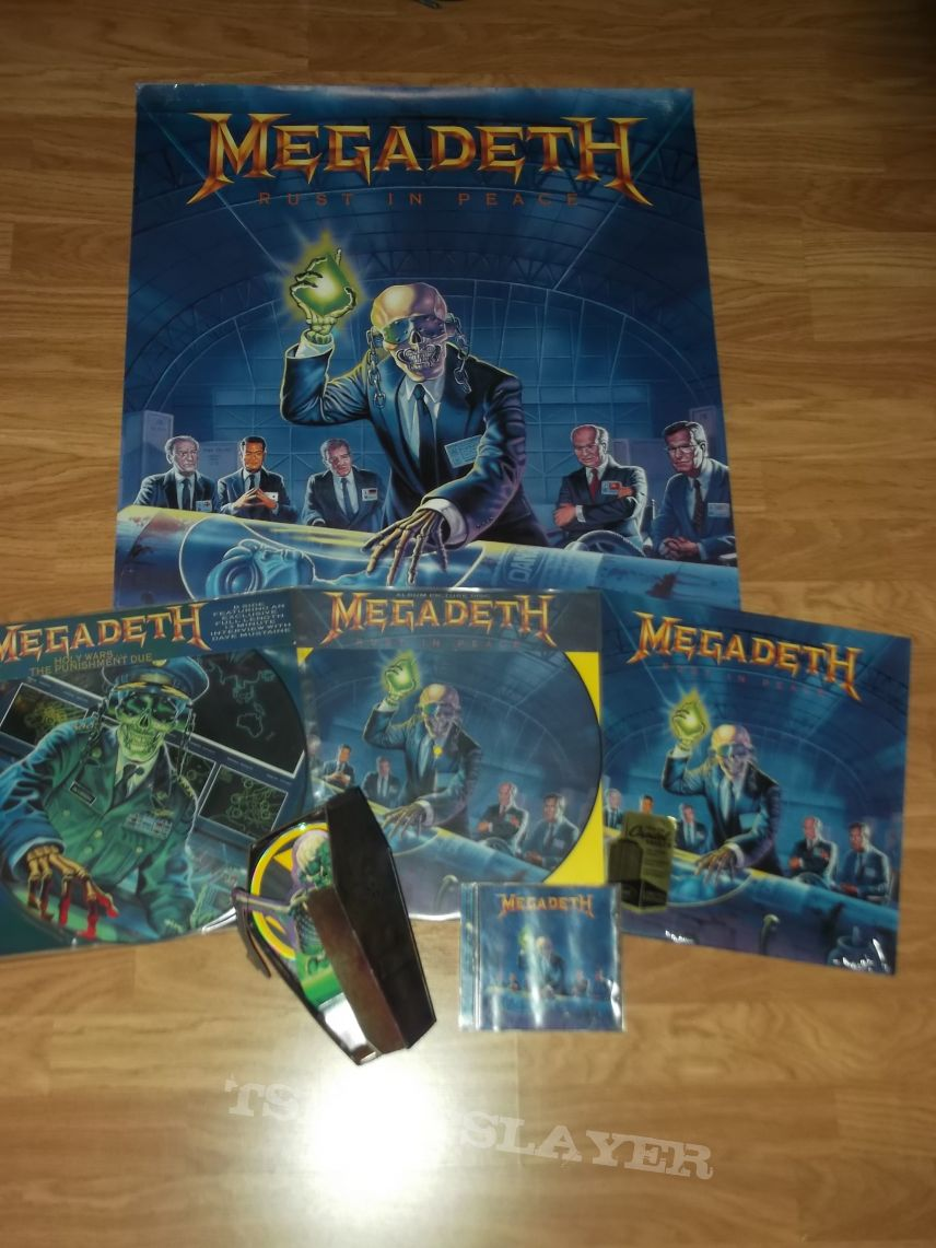 Megadeth - Rust in Peace collection