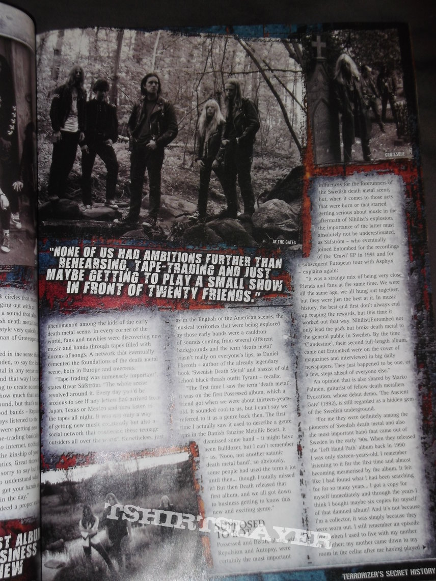 Terrorizer - The secret History of Death Metal, Special issue March 2010